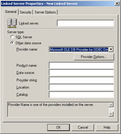 Linked Server to FileMaker Pro